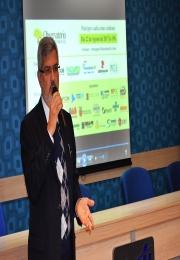 Delegado Adjunto da Receita Federal do Brasil de Limeira vem a Leme para apresentar o OSB para imprensa local