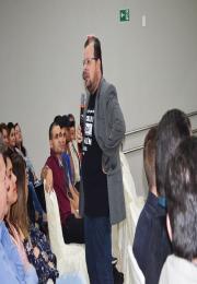 Fred Rocha ministrou a palestra - Pense Fora da Loja e ressaltou a importância da inovação nas empresas