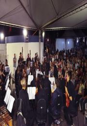Orquestra Experimental da UFSCar encerra eventos comemorativos no aniversário de Leme em grande estilo