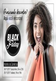 SUPER DESCONTOS - Confira a lista de lojas participantes da Black Friday 2017!