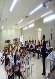 Palestra orientou sobre as novas leis e mudanças da Reforma Trabalhista