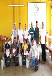 Grupo AAPILEME é contemplado com equipamentos de segurança individual