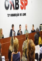 Cejusc de Leme realizou palestras a ações de conscientização na Semana  Nacional de Conciliação