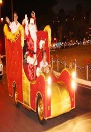 Cortejo da Chegada do Papai Noel abre a Programação de Natal neste sábado