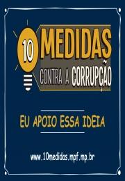 Associado, dê seu apoio ao Manifesto Contra a Corrupção!