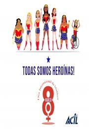 8 de março, Dia Internacional das Mulheres: saiba mais sobre essa data!