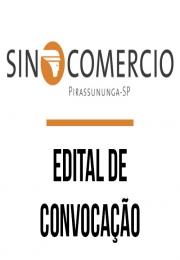 COMERCIANTES: Convocação do SINCOMERCIO  dia 01/06/2016, confira o Edital