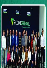 Sicoob Crediacil faz entrega de doações para entidades associadas