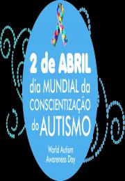 Dia Mundial do Autismo será comemorado neste domingo no Lago Municipal